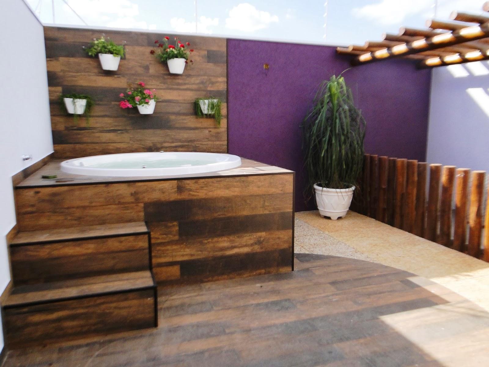 Juliana Perine : Projeto de acabamento e decoração de Área de  #9A6331 1600 1200
