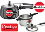 Buy Hawkins & Prestige Pressure Cooker At Upto 40% off & Extra 40% off :Buytoearn