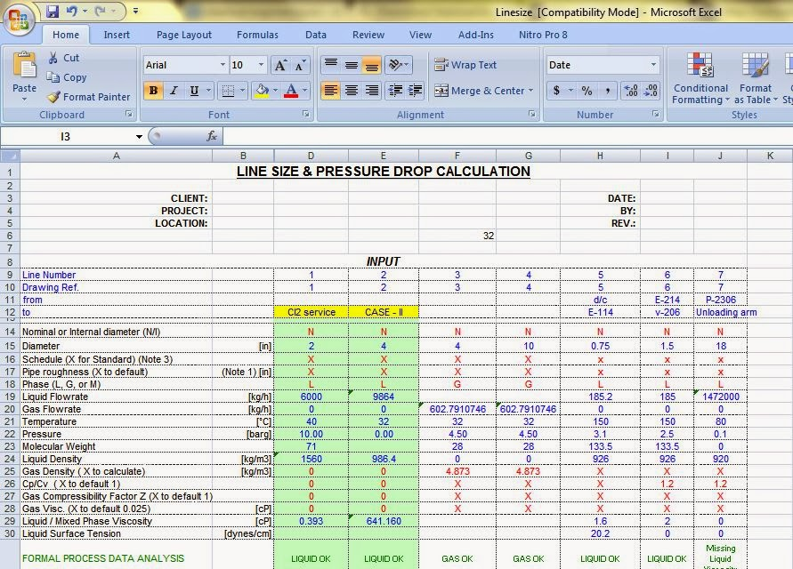 Use of Excel in Chemical Engineering Calculations.