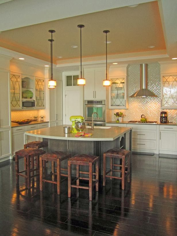 2014 colorful kitchen backsplashes ideas