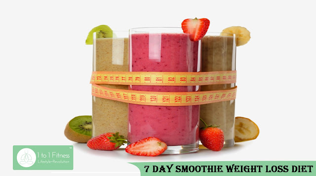 7 Day Smoothie Weight Loss Diet-