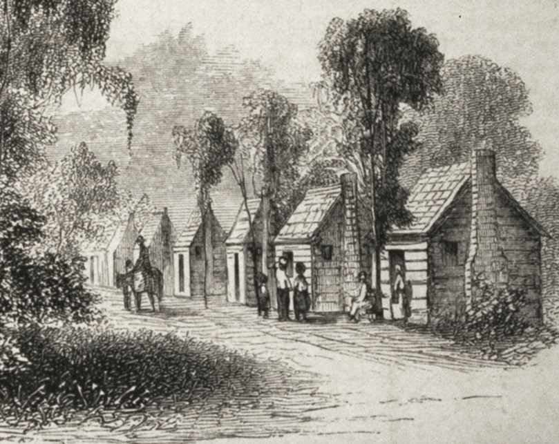 It 39 s about time 19c dwellings of american slaves before for 1800s plantation homes