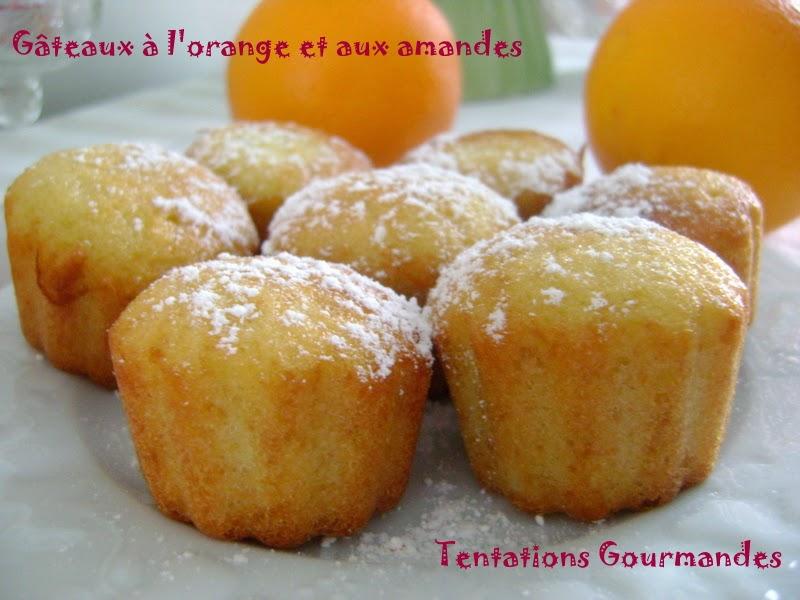 Tentations gourmandes petits g teaux aux zestes d 39 orange - Petit gateau pour le gouter ...
