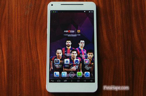 Harga Tablet Advan Vandroid Barca Tab T1X