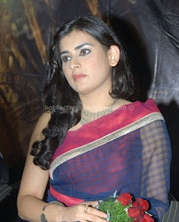Archana In transparant saree