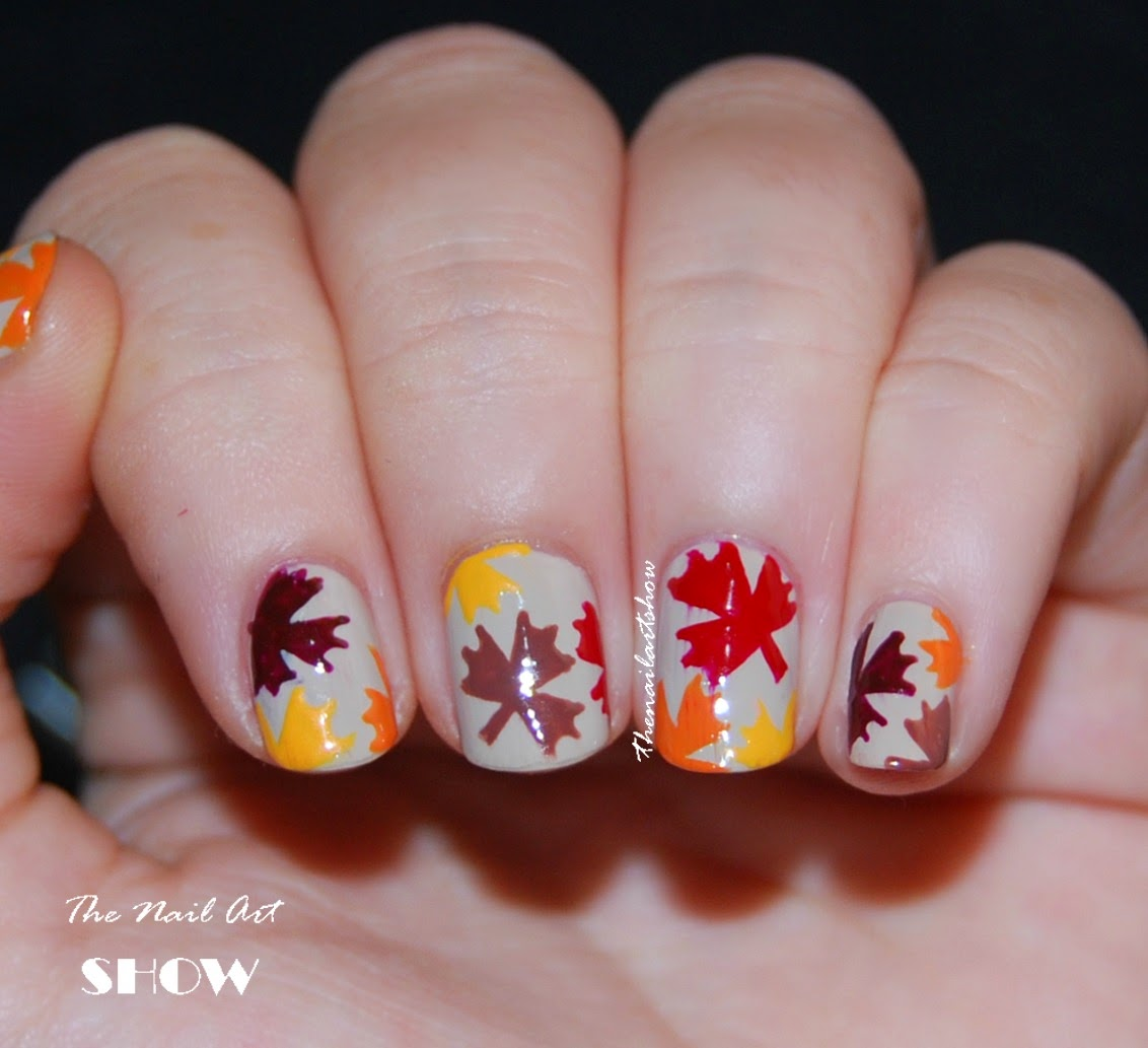 The Nail Art Show: Autumn Leaves