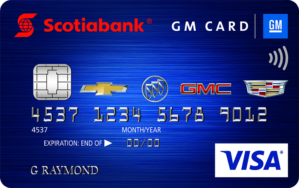 rewards canada talk to us about the scotiabank gm visa suite of credit cards for a chance to. Black Bedroom Furniture Sets. Home Design Ideas
