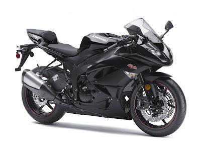 New 2011 Kawasaki Ninja ZX6R:
