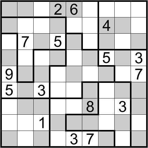 jigsaw sudoku how to play