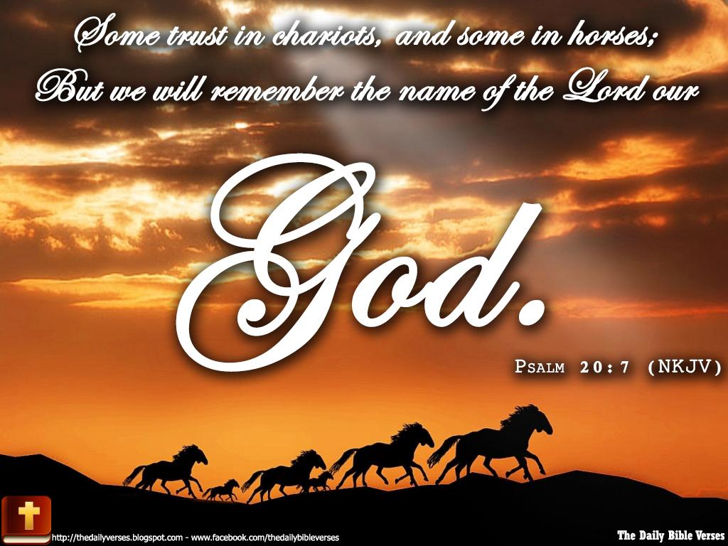 Daily Bible Verses: April 2013