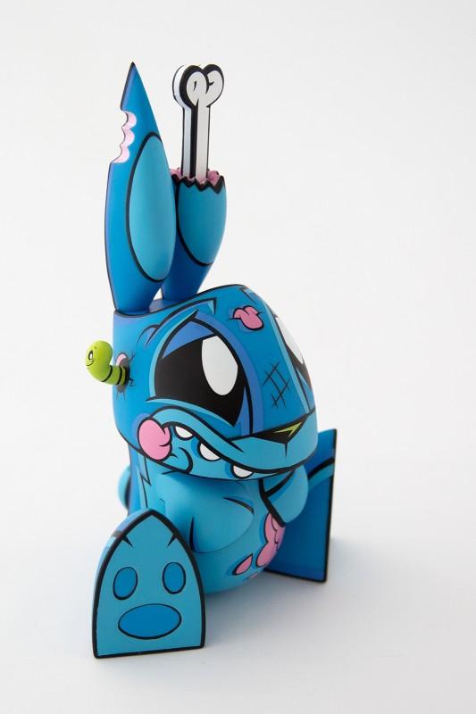 Toitoy Blue Zombie Bunny