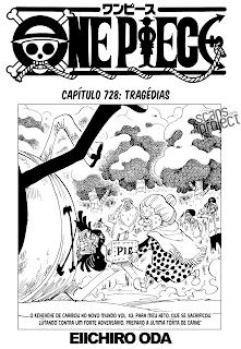 One Piece 728 Português Mangá