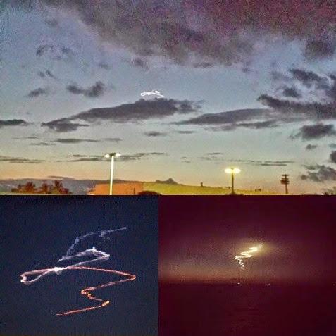 Στον ουρανό πάνω από τη χαβάη [βίντεο