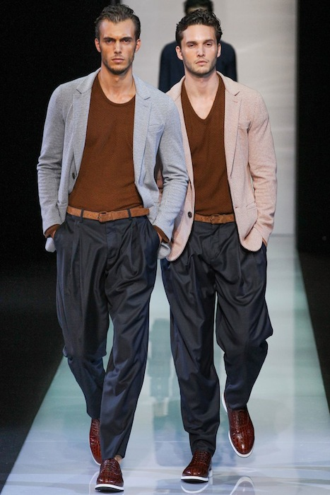 Giorgio Armani S/S 2013 Men's Fashion Photo-10