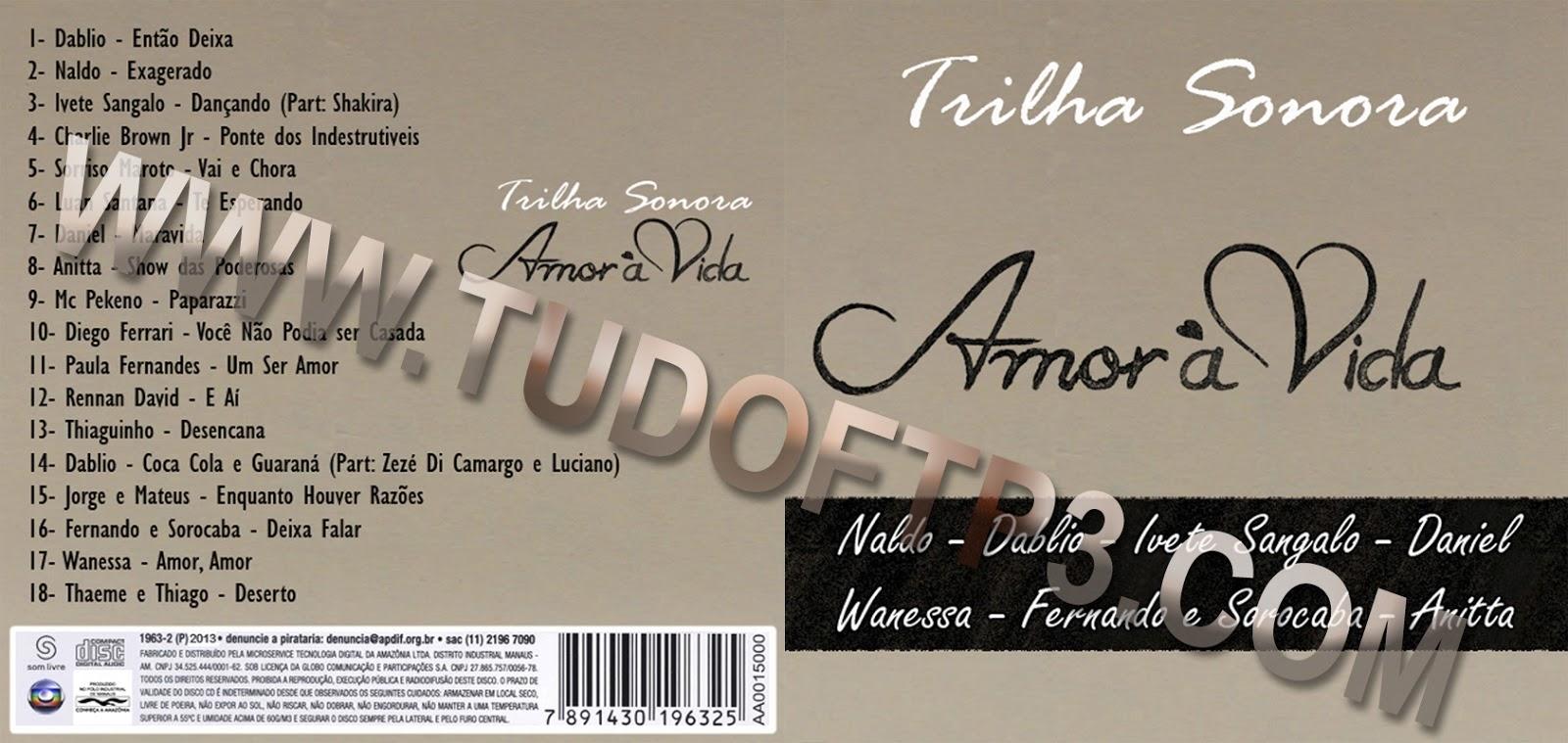 Trilha sonora amor 224 vida cd ftpcd