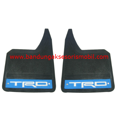Mudguard Exclusive Sedan TRD Biru