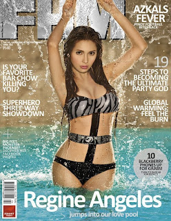 Regine Angeles FHM Philippines April 2011 cover