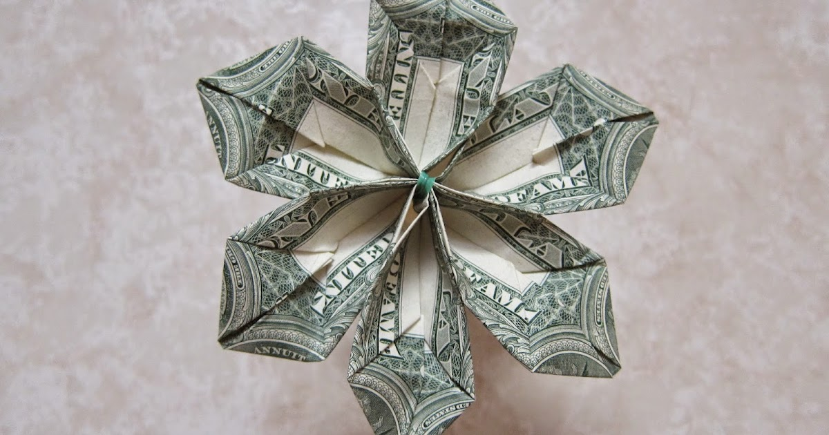 Origami Money Flower Craft Ideas And Art Projects