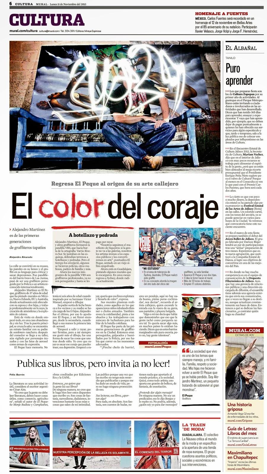 Peque vrs for El mural guadalajara avisos de ocasion