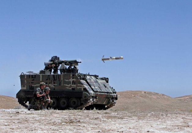 TOW-II live firing