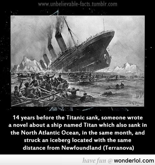 When did the Titanic Sink ? Date, Time