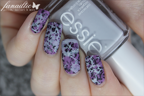 "essie ""play date"" + resort fling LE ""find me an oasis"" + ""under the twilight"" waterspotted technique nailart"
