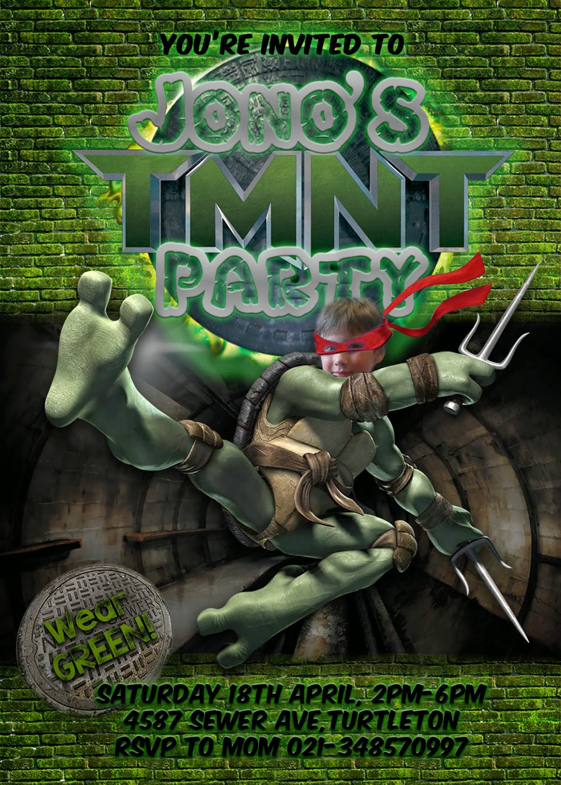 Great Fun etc Ninja TurtleTMNT Party FREE Printables