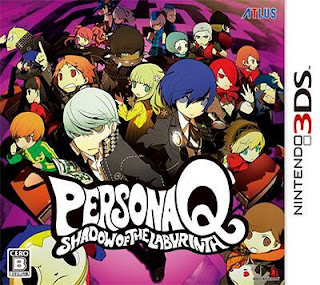 Persona Q: Shadow of the Labyrinth USA 3DS GAME [.3DS]