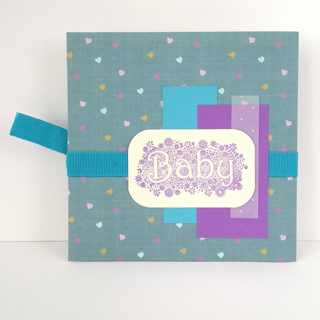 Конверт открытка для новорожденного мальчика