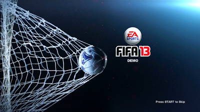 FIFA 13 Demo Screen