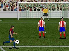 Süper Forvet Golcü Oyunu