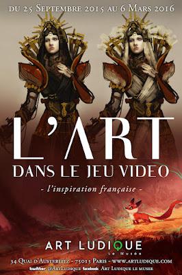 exposition Paris Art et Jeu vidéo