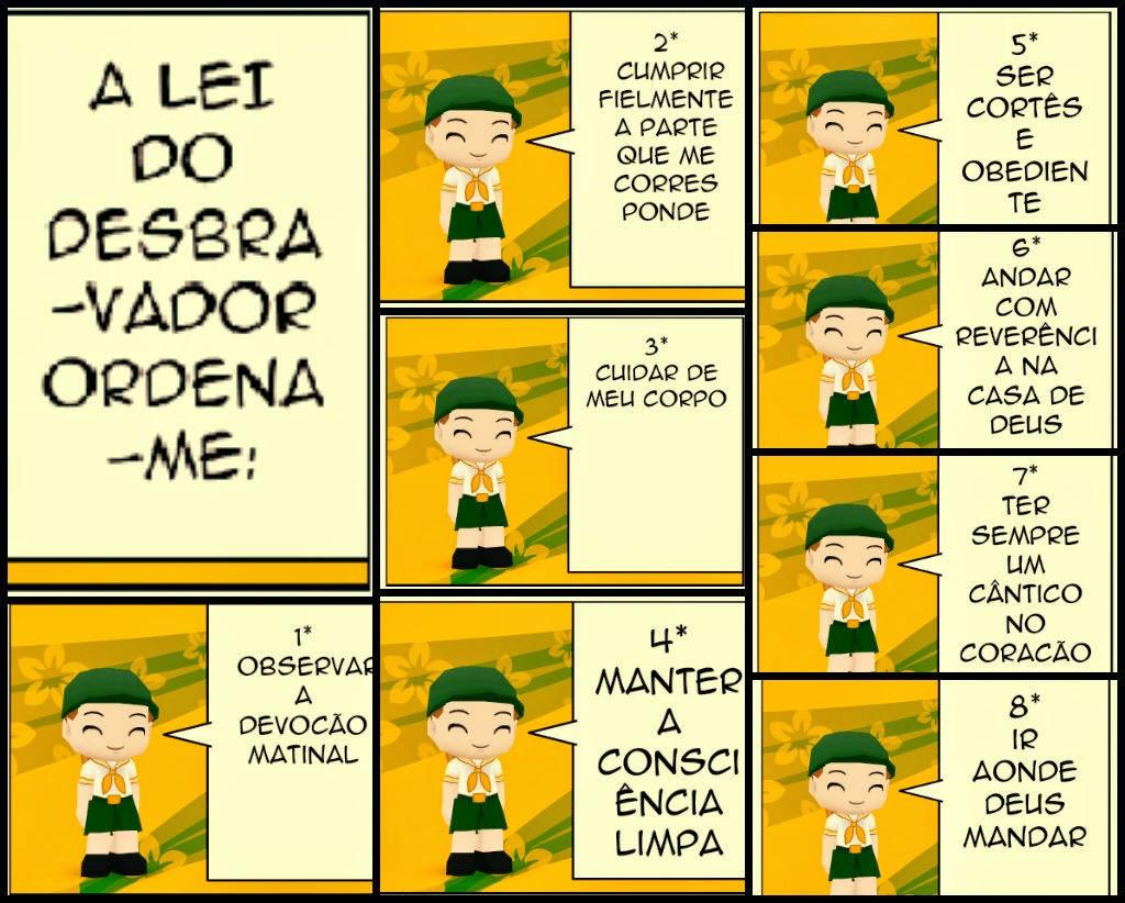 Muitas vezes DESBRAVADORES GO: VOTO E LEI SO32