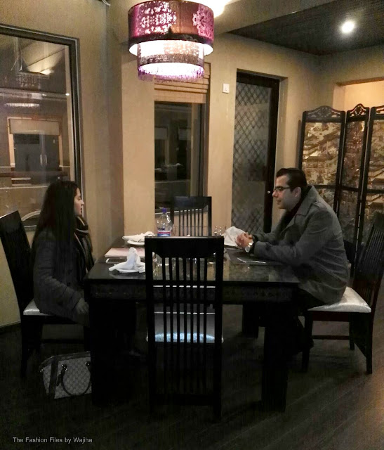 Mr. Omer (CEO Silk Route) Briefing Me About His Restaurant :)