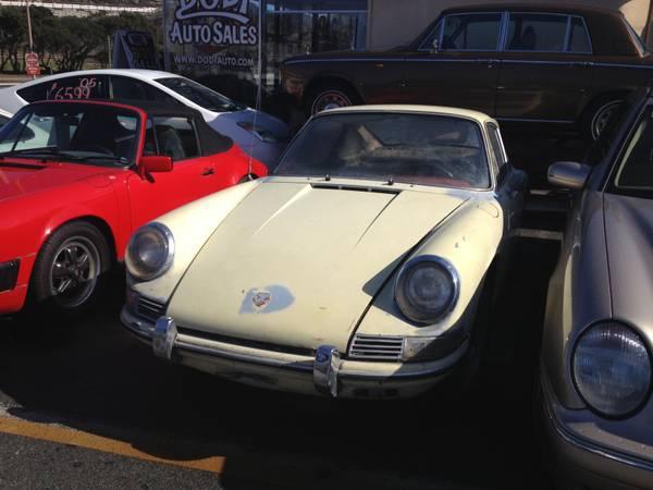 Daily Turismo: 10k: Options: 1968 Porsche 912; Some Assy ...