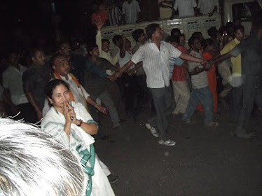 Mamata didi at Behala (Kolkata).