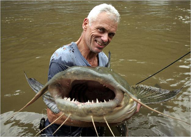 ikan pemakan daging manusia