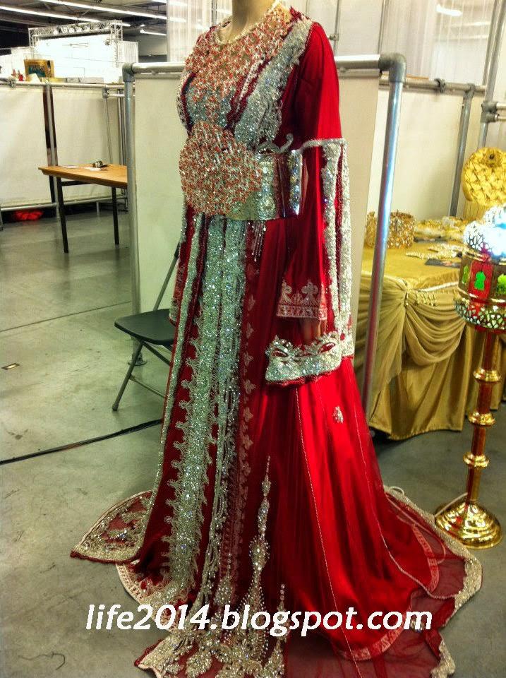 قفطان عروس أحمر رائع الفخامة mirrrraaaaaaaaaa.jpg