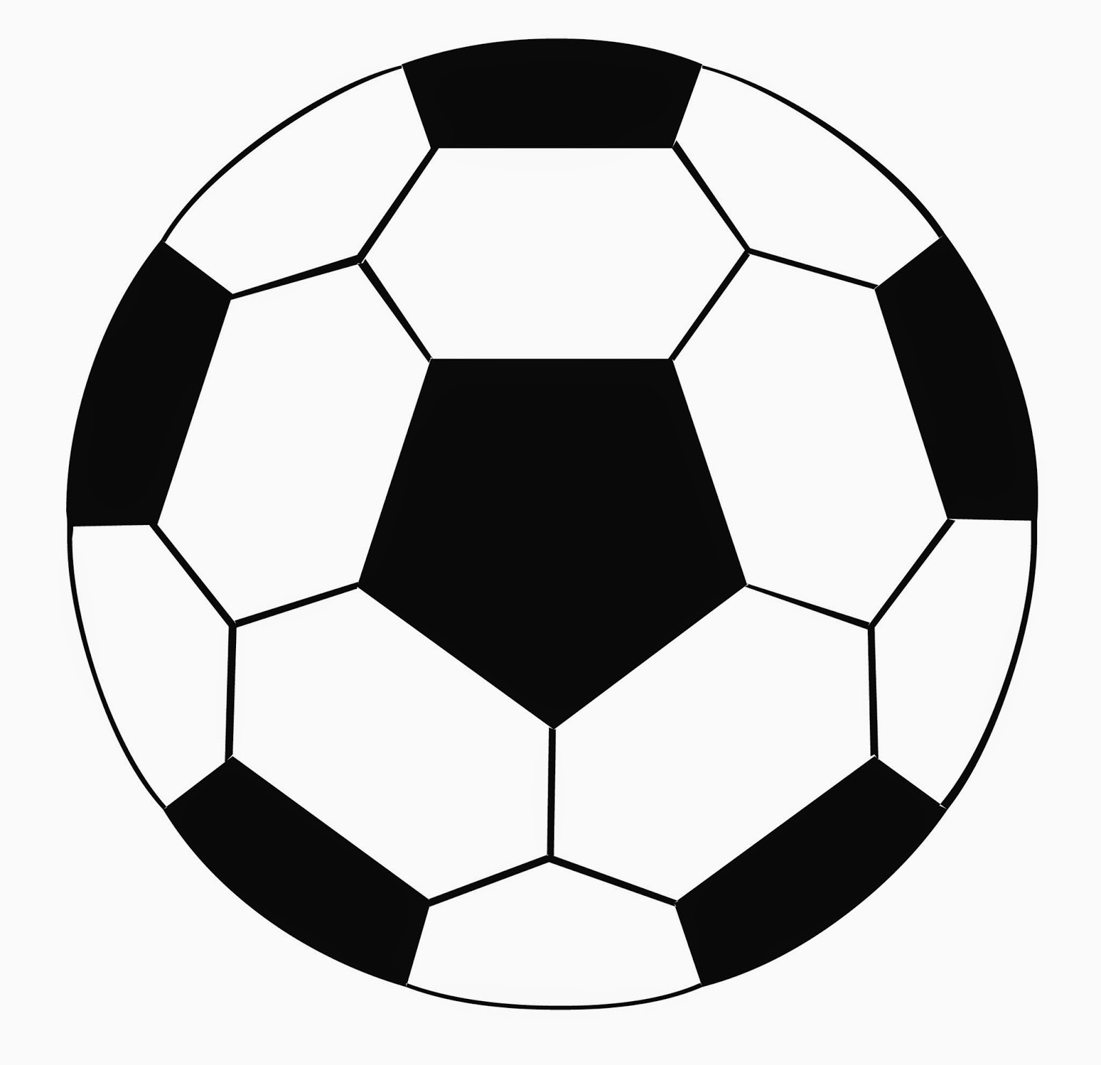 Adaptable image with soccer ball printable