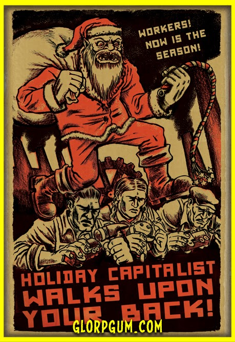 commie christmas cards