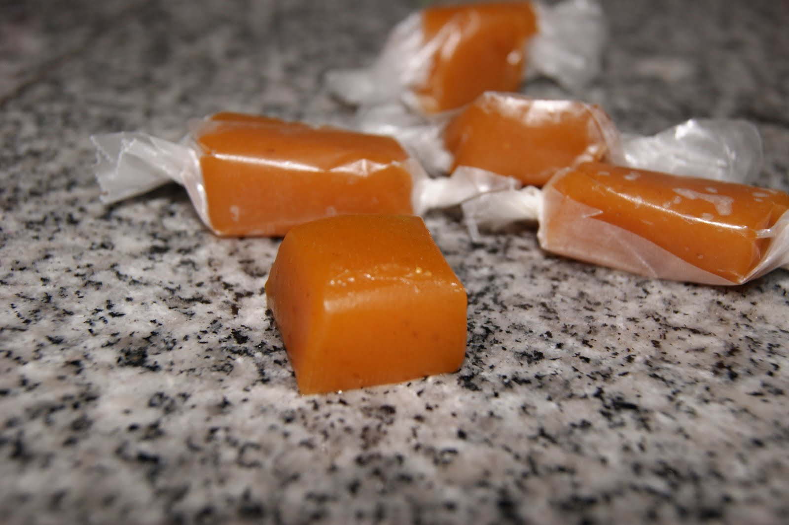 The Bakery Box: Salted Pumpkin Caramels- Our New ...
