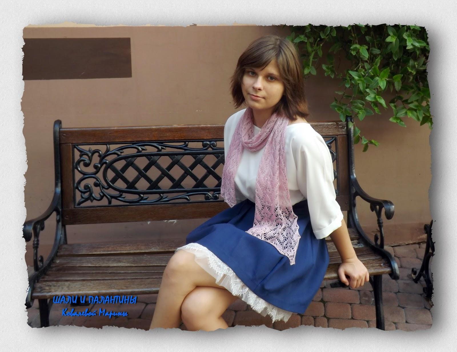 шарфик, шарф, француженка, шелковый шарф