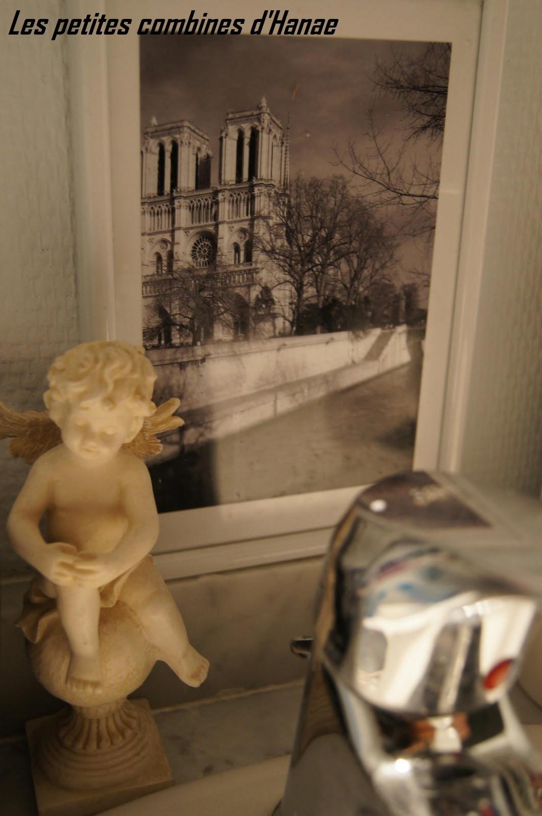 Les petites combines d\'Hanae...: Déco salle de bain romantique ...