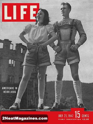 Americans in Heidelberg Life Magazine 1947