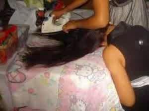 status facebook gambar pelurus rambut serba guna