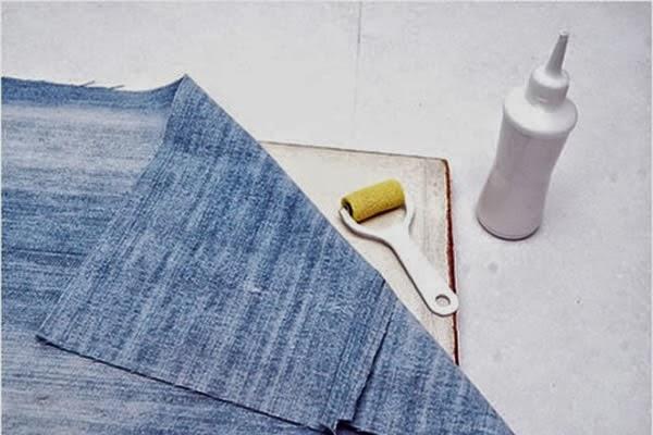 Atelie Cantinho Da Arte Porta Trecos Feito Com Jeans