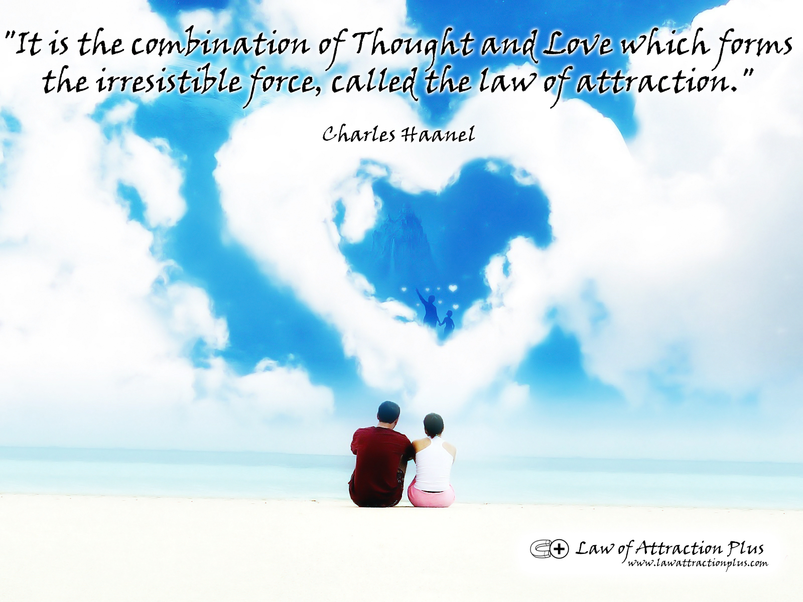 Love Attraction Quotes It Is The Combination Of Thought And Love Which Forms The