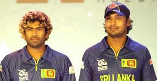 Kumar Sangakkara,Lasith Malinga,  included in ICC ODI team of the year 2012