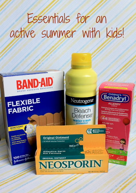 Essentials for an active summer with kids #RewardHealthyChoices #ad