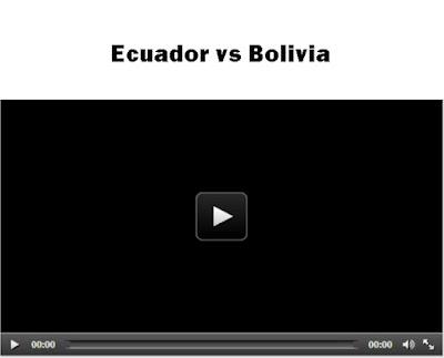 Ecuador vs Bolivia Copa America live stream